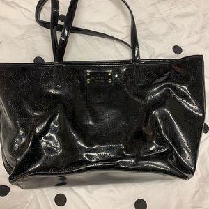 Very used Black Kate Spade Tote bag Large